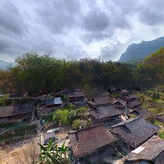 水城县天门村航拍(2018年3月)