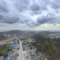 虾子镇航拍(2018年1月)