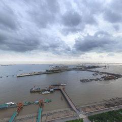 上海宝山区吴淞口邮轮港